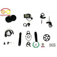 Buy cheap IP 65 36V / 48V 500W BBS02 Electric Mid Motor Kit With Speed Sensor product