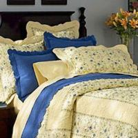 Best 100% Cotton Yellow Machine-stitched Quilt with 100% Cotton Filling wholesale