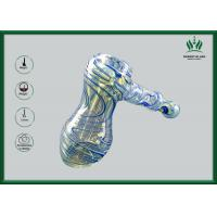 Best Hand Held Glass Water Bongs Dichroic Bubbler Mini Size Creative Style wholesale