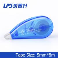 Best Flexible and smooth Mini Correction Tape Roller Blue Color 5mm*8m wholesale