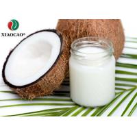 China Food Grade Certified Organic Coconut Oil , Organic Refined Coconut Oil Moisture Hair on sale