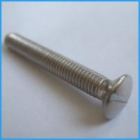 Buy cheap Slotted raised csk head screws from wholesalers