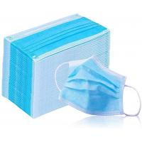 Best Breathable 3 Ply Non Woven Face Mask Bfe 95 - 99.9 High Efficient Filtration wholesale
