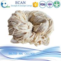 China Hunan Cheap High Quality HACCP,FDA Approved Salted Natural Hog Casings for Sausage on sale