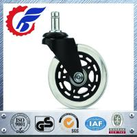 Best 3 inch Rollerblade Style Soft Office Chair Caster Wheel ankcaster.com wholesale