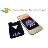 Best Multi Color  Stretch Phone Holder 3M Mobile Phone Wallet For Promotion Card / VIP Card wholesale