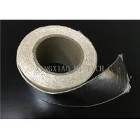 Best High Temperature Resistant Fireproof High Silica Fabric Tape Aluminum Foil Coated wholesale
