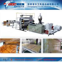 China PVC Faux Marble, Artificial Marble, Imitation Marble board Production Line on sale