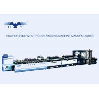Buy cheap High-speed Automatic Waterproof Pouch Making Machine With Standing And Zipper Seal product