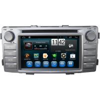 China Steering Wheel Control Toyota Dvd Player For Toyota Hilux 2012 Gps dvd players with Dvr on sale