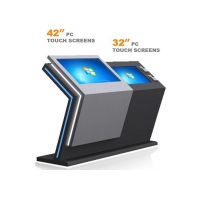 Best Infrared Touch Screen Information Kiosk 32GB ROM 3G 4G Module For Shopping Mall wholesale