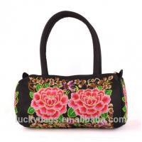 Yunnan Luckybags canvas ladies bag hmong embroidered bags