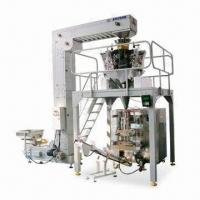 Best Automatic Packing Machine for Frozen Food, with 10 Head Weigher, Platform and Finish Product Machine wholesale