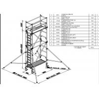 China Mobile Aluminium Scaffold Tower Durable 7.5m Easy Towers Scaffolding on sale