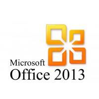 China Office Professional 2013 Product Key Card , Microsoft Office Latest Version on sale