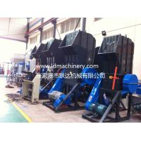Waste Plastic Recycling Line Pet Bottle Crusher Machine Soundproof