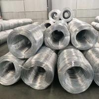 China Hot Dipped Galvanized Iron Wire Mesh Fence Rolls Silver Color High Tensile on sale