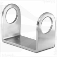 Best 42.4mm Brushed Wall Bracket Working for Inox and Glass Balustrade wholesale