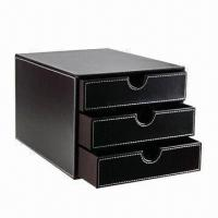 Best Leather Desktop Drawer, Made of PU/PVC and Leather wholesale