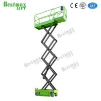 China 8m Self-propelled Scissor Lift For Work At Height With 230Kg Loading Capacity on sale