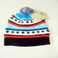 China Knitted Bright Color Warm Hat on sale