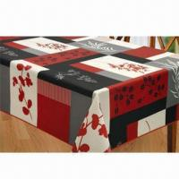 Best Table linen, made of 100% polyester printing wholesale