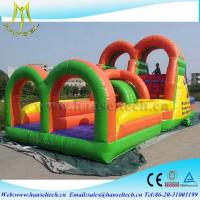 China Hansel backyard play equipment,obstacle sport game for children on sale