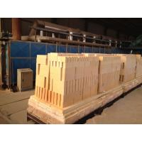 China 65% High Alumina Refractory Brick Anti Stripng Thermal Insulating For Glass Kiln on sale