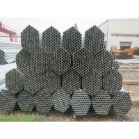 China ASTM / BS Construction Hop-dip Galvanized Steel Pipe , ERW Round Galvanized Pipes on sale