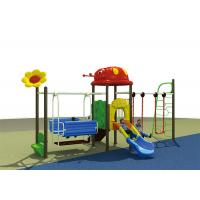 China Sports Play Game Outdoor Child Swing Set Combination Slide Playground Equipment For Kids on sale
