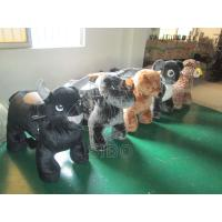 Best Plush Motorized Animals Coin Operated Battery Animals Motorized Plush Animals wholesale