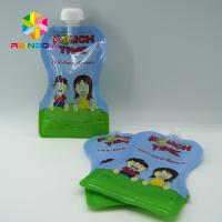 Buy cheap Custom Reusable Liquid Stand Up Liquid Spout Bags Baby Food Packaging Bag product