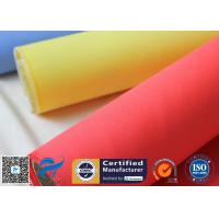 Red Silicone Rubber Coated Fiberglass Engineer Acoustic Insulation Fabric
