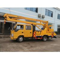 Best JAPAN brand Isuzu 4*2 LHD 16m aerial working truck for sale, Best price ISUZU 14m-16m hydraulic bucket truck for sale wholesale