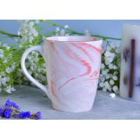 Best Marble patterned ceramic candle holders ceramic mug sets for coffee or tea drinking wholesale