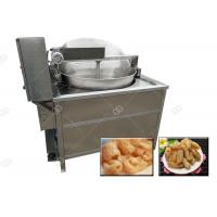 Best Fully Automatic Pig Skin Frying Machine Electric Heating Pork Rinds Fryer Machine wholesale
