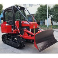 Buy cheap 35hp multi-functional mini crawler bulldozer EPA diesel engine crawler dozer/tractor with front loader/backhoe product