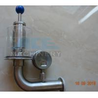 Best Brewery Fermenter Tank Stainless Steel Safety Pressure Relief Bunging Valve  Pressure Relief Vacuum Valves wholesale