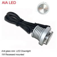 Best Anti glare 1W recessed outdoor LED dwonlight for furniture shop used wholesale