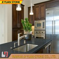 Best Dark Grey Artificial Quartz Kitchen Worktops Counter Vanity Table wholesale