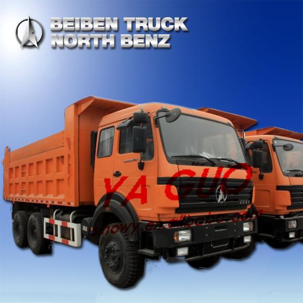 Cheap BEIBEN(NORTH BENZ) 340HP 10WHEERLER 6X4 EURO3EGR DUMP TRUCK(ND3254B34 2534KY) for sale
