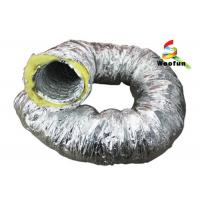Best Aluminum Foil Insulated Fiberglass Insulated Flexible Ducting For Air Conditioning wholesale