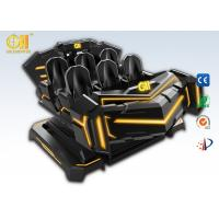 Attractive 6 Seats VR Cinema Theater Tank Shape Virtual Reality Simulation Rides