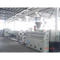 Best CPVC Pipe Plastic Extruder Machine / Plastic Extrusion Machines 51 / 105mm Screw Dia wholesale