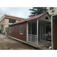 Buy cheap Fabrication Steel Structure Villa , Q235B / Q345B Painting Residential Prefab Steel House from wholesalers