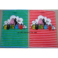 China kids  100% cotton reactive printed hand towel ,40X72CM , China factory on sale