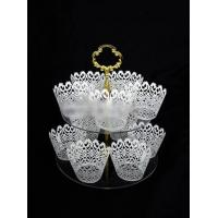 China CD (91) tiered cake stands for wedding cakes on sale