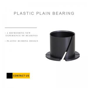 Best Collar Plastic Plain Bearings , Flange Bushing Thrust Washer, high strength wholesale
