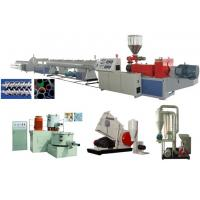 Best UPVC Rigid Solid Pipe Extrusion Line wholesale