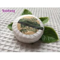 China Customized Round White hotel small hotel toilet soap bar soap on sale